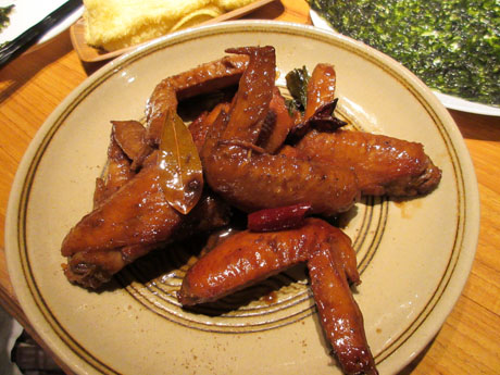 鶏手羽のスパイシー中華煮