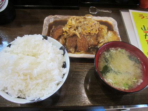 ソースカツ煮定食