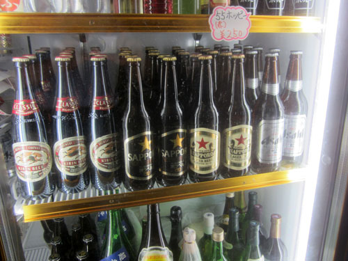 瓶ビールは4種類ある