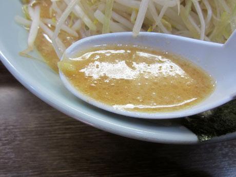 相変わらずのこってりスープ