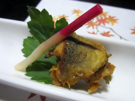 秋刀魚の挟み揚げ