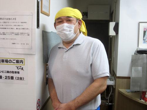 店主の加藤さん