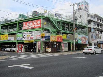 久米川駅北口の駐車場&駐輪場