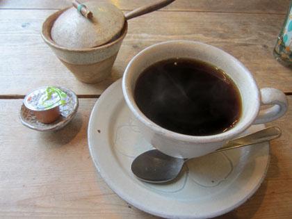 コーヒーを飲んでひと息