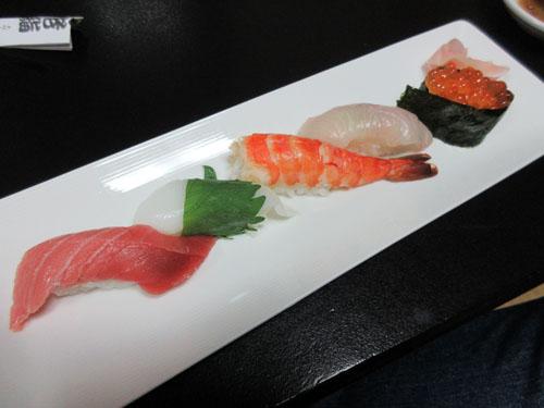 おまかせ上寿司