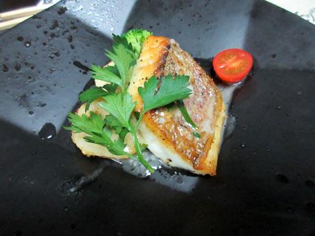 本日の魚介料理