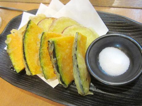 サツマ芋とカボチャの天ぷら