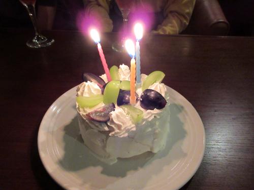 ナント、サプライズのケーキ!
