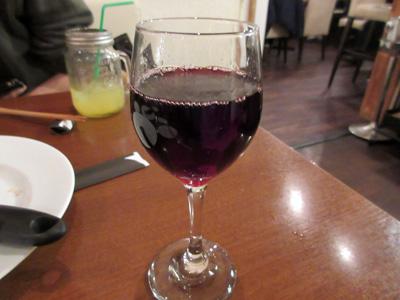 今度は赤ワイン