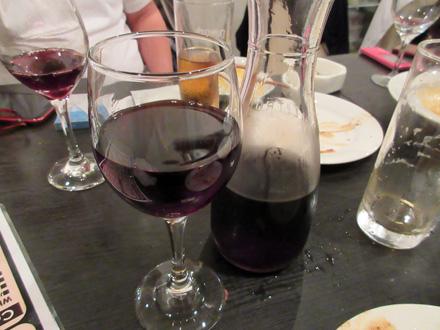 ようやく赤ワイン