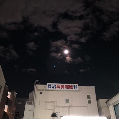 空にはまあるいお月様