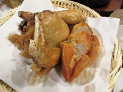 国産鶏の半身揚げ