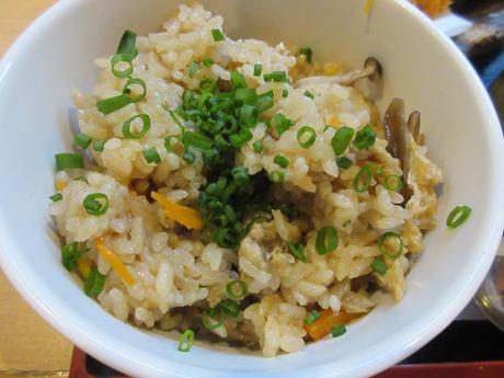 茸の炊き込みご飯