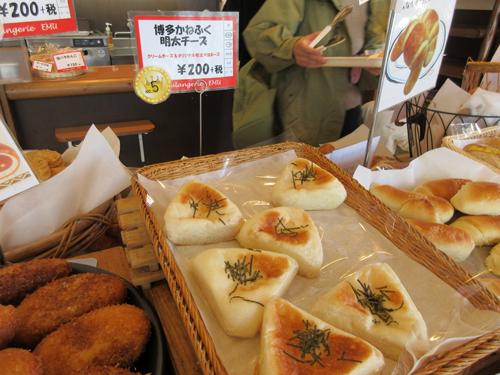 「博多かねふく明太チーズ」はおにぎりみたいな形がいいよね