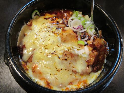 陳麻婆チーズ丼