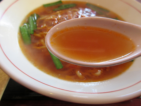 スープが旨い