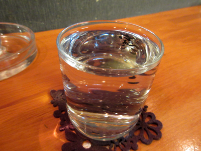日本酒でお疲れさん