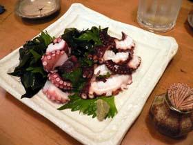 五島列島の地蛸