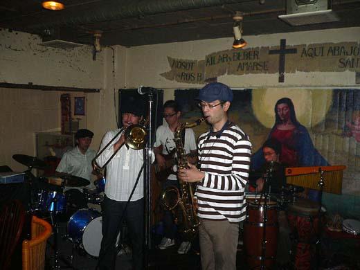 最高のパフォーマンスを見せてくれた「jazz collective」