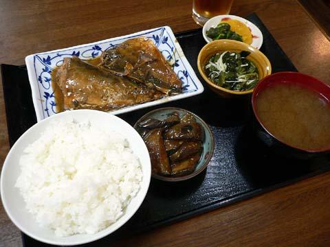 サバ味噌煮定食