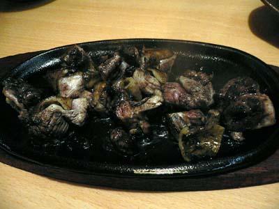 地鶏の塩焼き