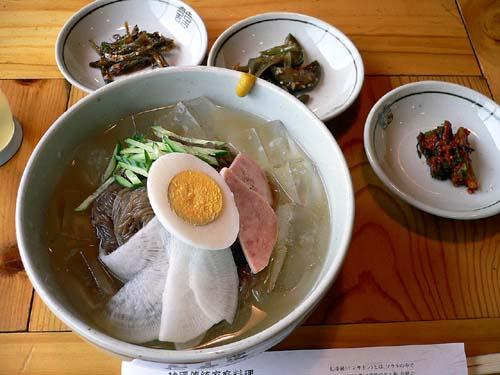 「仁寺洞」の冷麺