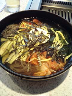 「明月館」の冷麺