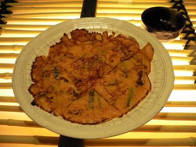 李さん家の海鮮チヂミ