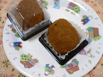 パッケージから出した京のわらび餅