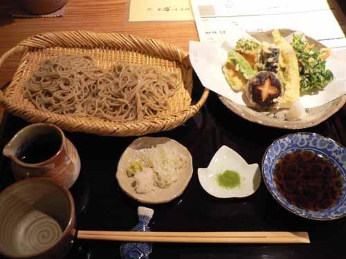 季節の野菜天ぷら盛合付せいろ