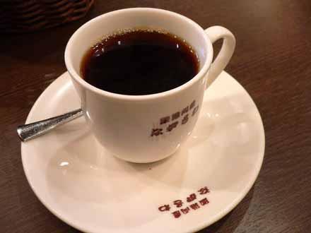 店内で出された今月のコーヒー