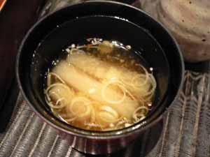 大根の味噌汁