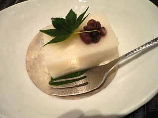 山芋を使ったデザート