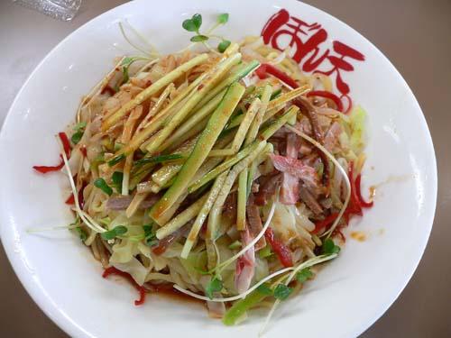 冷し麻辣麺