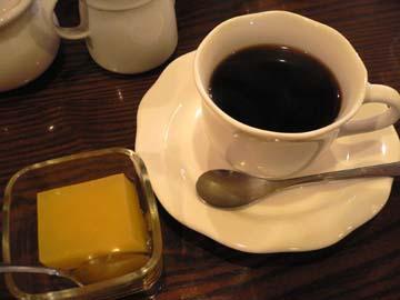 コーヒーとデザート