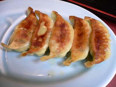 ニンニク餃子