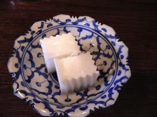 ココナッツミルクの寒天