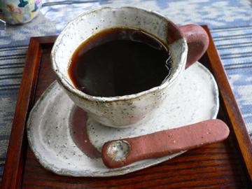 挽きたて&淹れたてのコーヒー