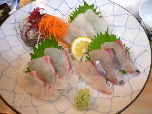 白身魚三点盛