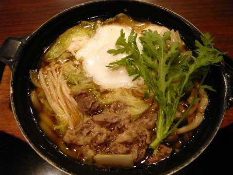 きのこと野菜の牛鍋