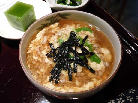 これがそば米雑炊