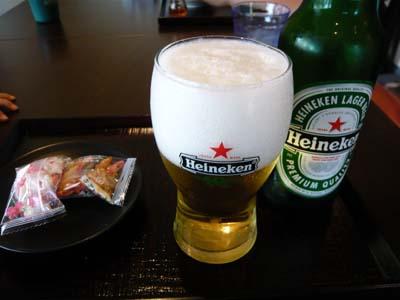 ビールでお疲れちゃん