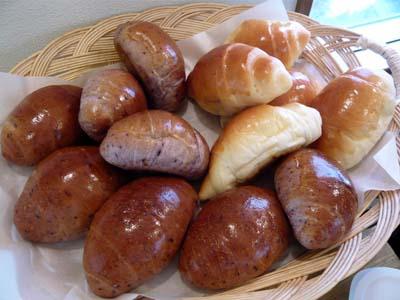 2種類のロールパン