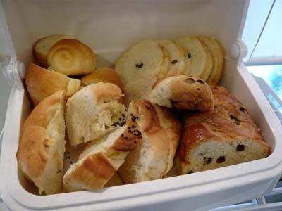 サービスのパン