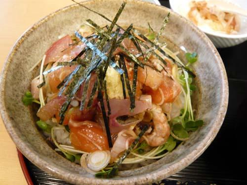 「漁師丼」のアップ