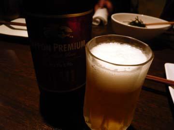 ニッポンプレミアムで乾杯