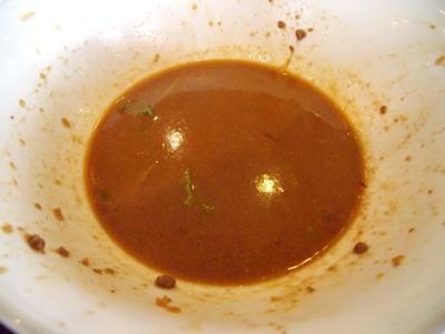 残ったスープ