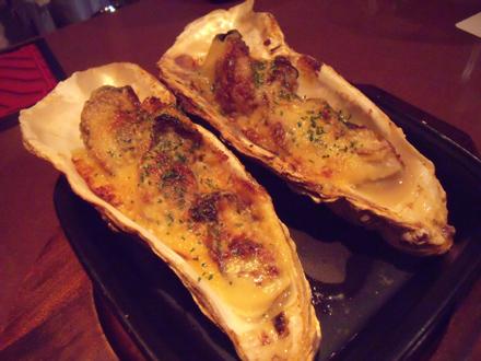 カキの味噌マヨネーズ焼き