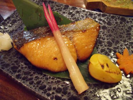 秋鮭の粕漬け