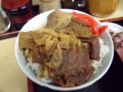 ミニ生姜丼